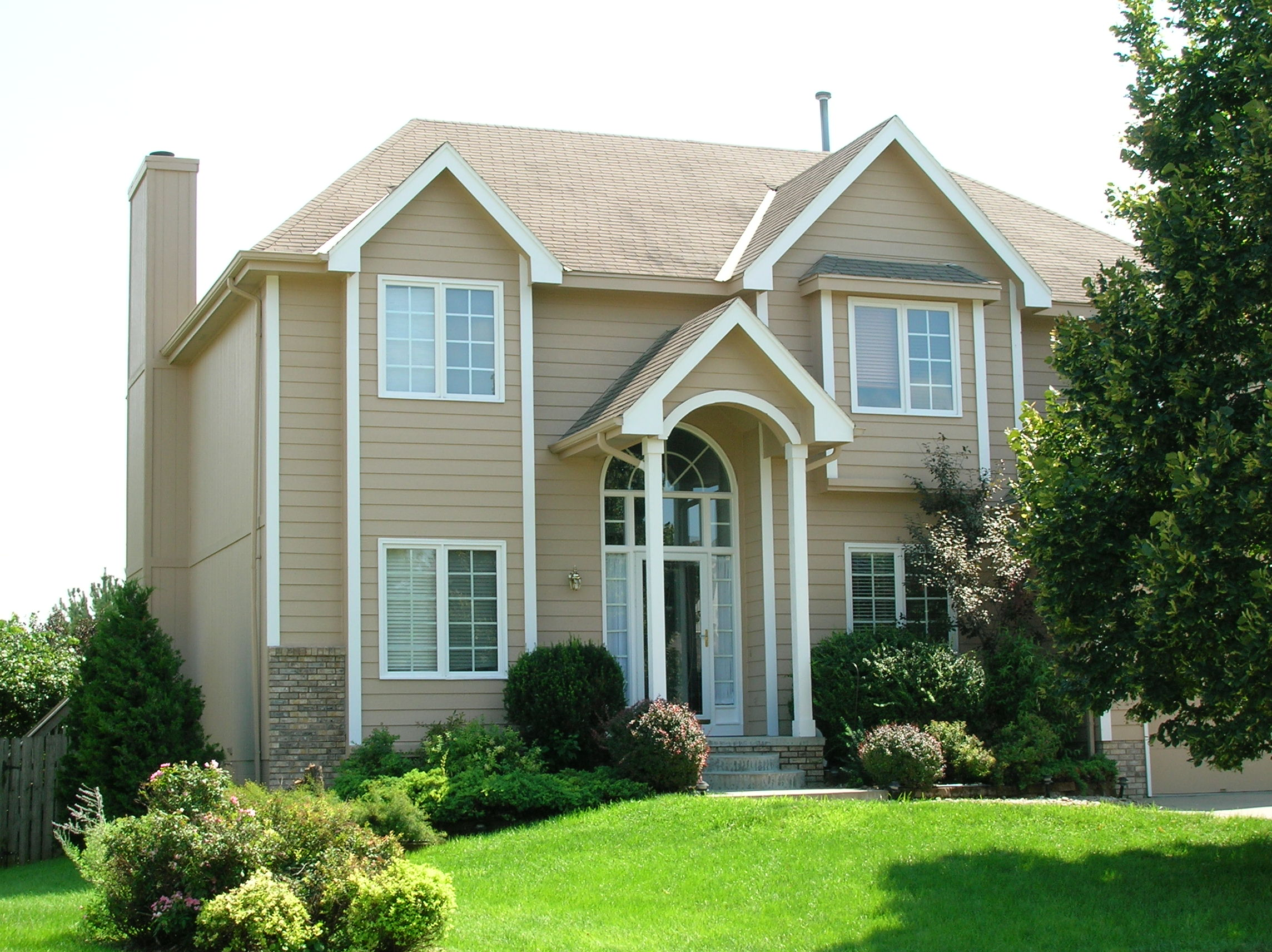 House Exterior Painting After