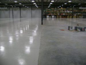 epoxy floor coating installation