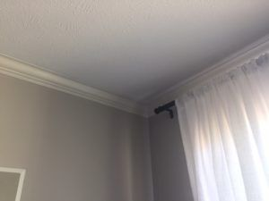 painting crown molding