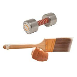 galaxgtools paintbrush counterweight