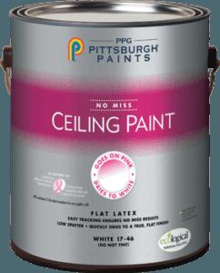 Pittsburg Paint no miss ceiling paint