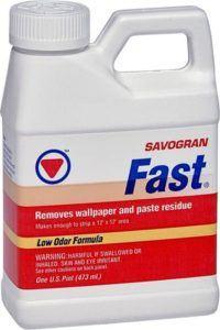 fast wallpaper remover