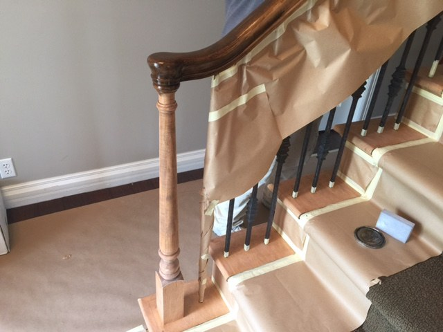 Restaining Woodwork The Painting Company