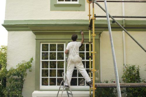 Touching up the exterior of your home