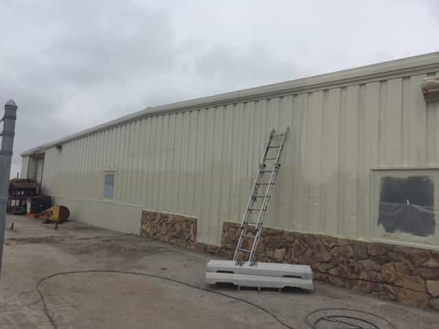 Painting exterior metal in cold weather the painting company for Exterior house painting in cold weather