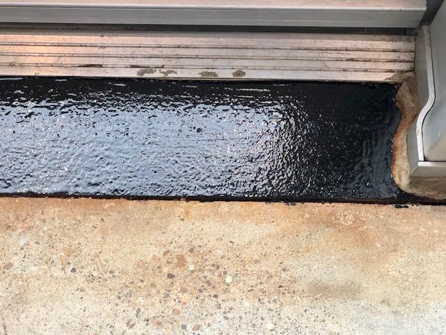 coating weathered steel