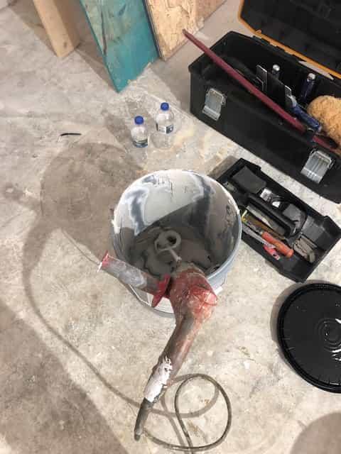 skim coating