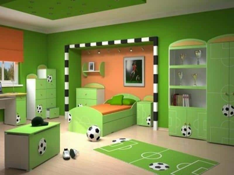 The Color of your Child's Bedroom Affects Behavior