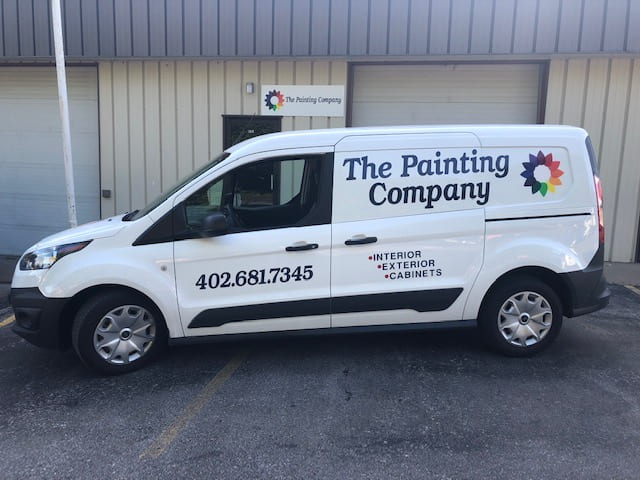 painting service vehicle