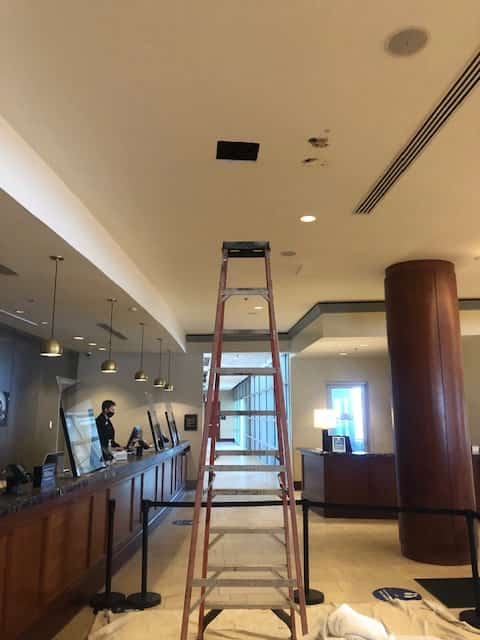 ten foot ladder work
