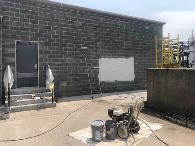 Industrial exterior painting